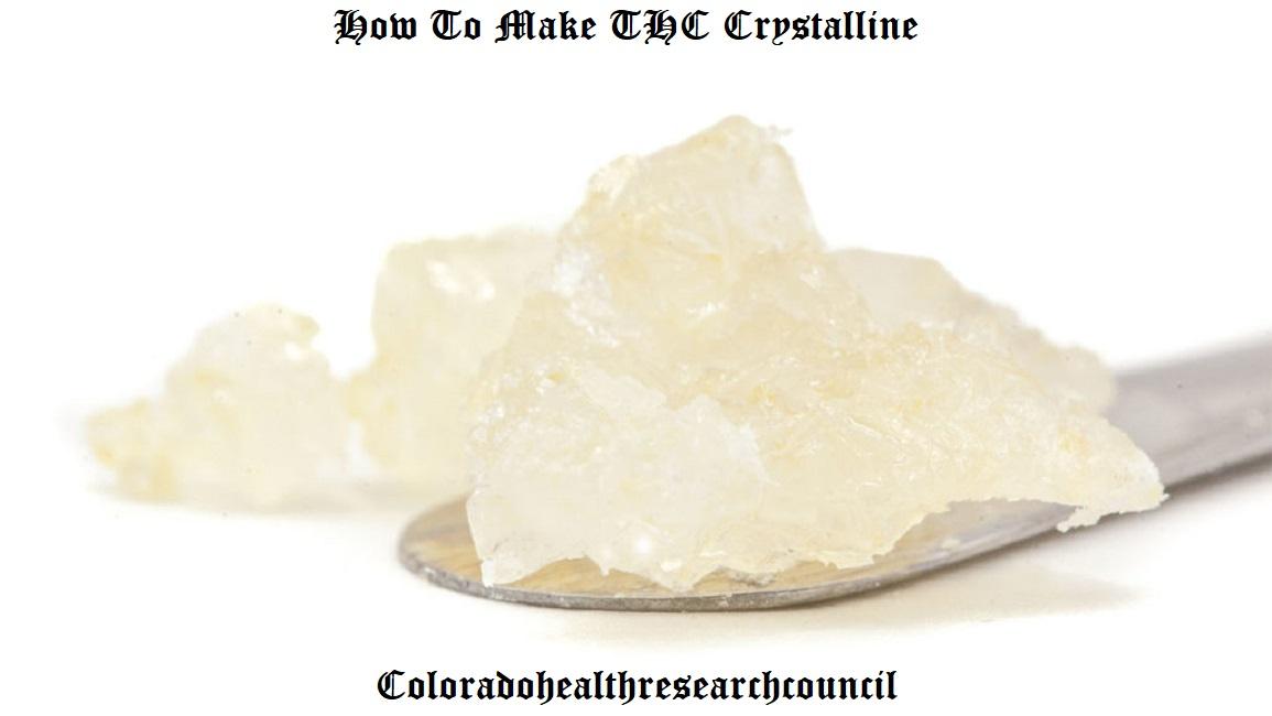 thc crystals