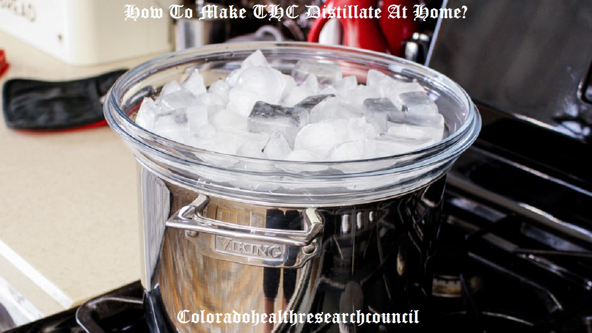 how to make distillate at home