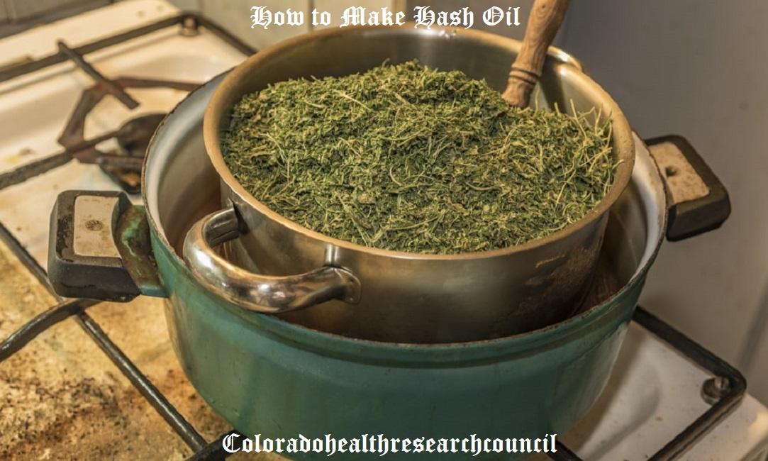 how to make homemade hash oil