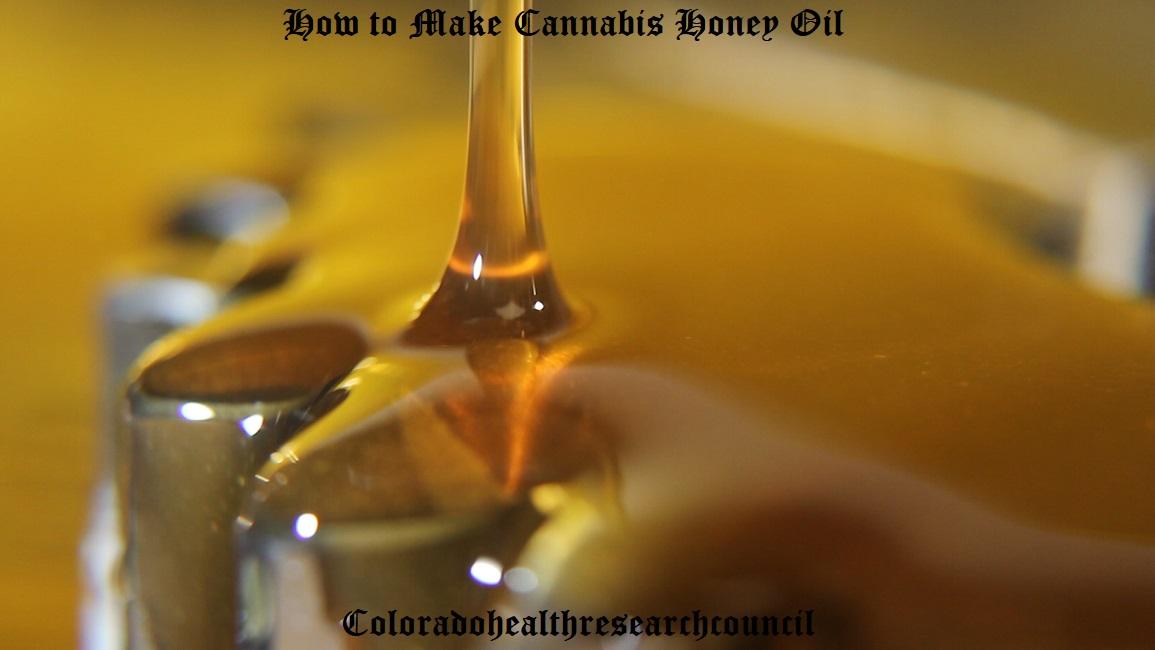 how to make honey oil