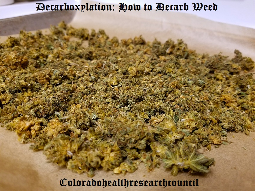 decarb weed