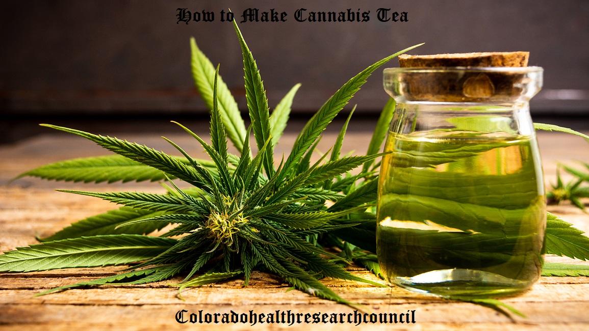 how to make marijuana tea